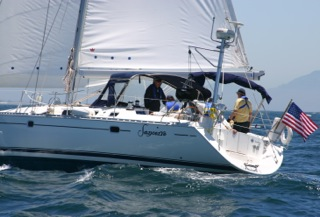 Sancerre is all about luxury under sail