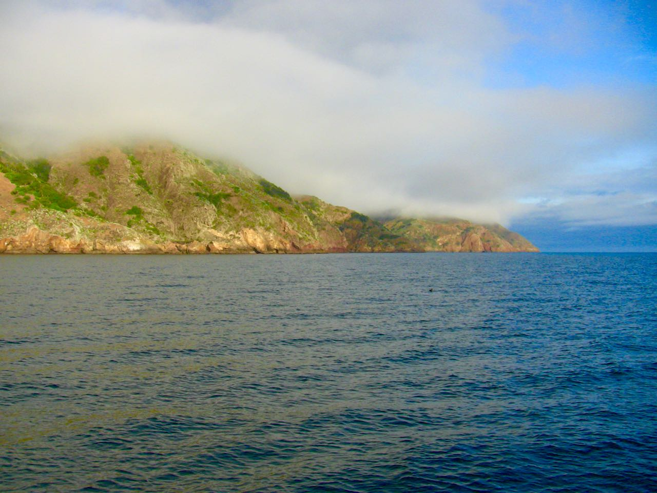 Sail to Diablo anchorage on Santa Cruz Island with Capt. Dan Ryder and Sail Channel Islands