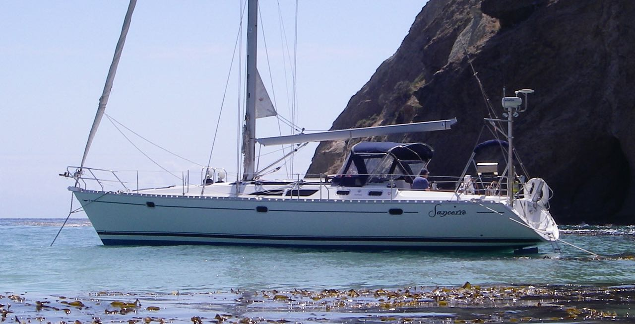 Sail to Willows anchorage on Santa Cruz Island with Capt. Dan Ryder and Sail Channel Islands