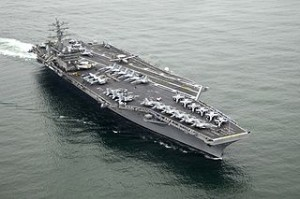 USS Nimitz is a super carrier