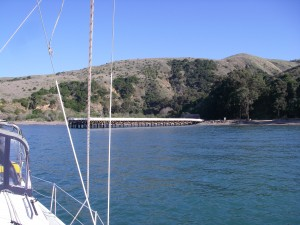 Prisoner Harbor anchoring
