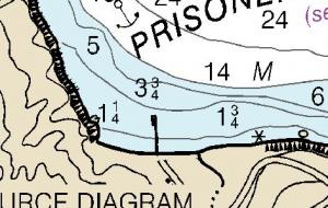 Prisoners Harbor chart 18729