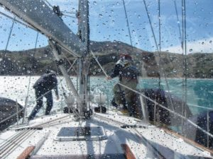 Gale-force winds approaching Smugglers ©Marie Delight