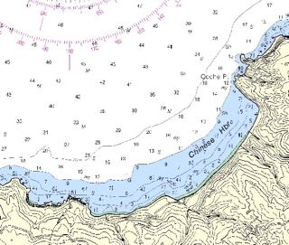 NOAA chart 18729 - Anacapa Passage