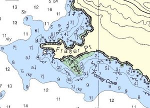 NOAA chart 1827