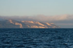Sail to Shaws anchorage on Santa Cruz Island with Capt. Dan Ryder and Sail Channel Islands