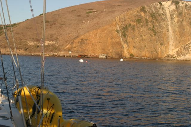 Scorpion Anchorage - remain clear of the buoys. Only NPS, CG and Island Packers are authorized users.