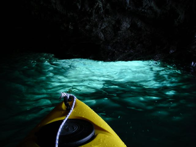 Blue Grotto - Scorpion anchorage